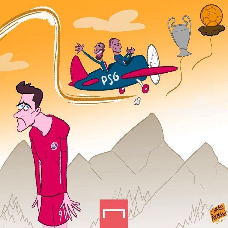 پرواز پاریسیها به سوی آقای گلی و قهرمانی اروپا را ببینید!