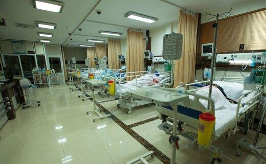 بیمارستان ارتش همدان برای بستری بیماران کرونایی آماده شده است