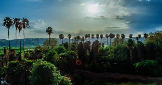 تصاویر دیدنی از باغ بلقیس