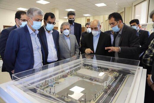 مشاور رئیس جمهور از شرکت شهر فرودگاهی امام خمینی(ره) بازدید کرد