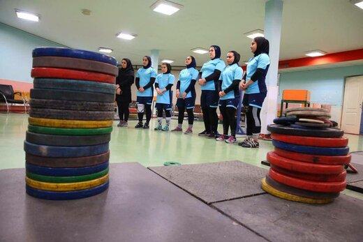 بازدید صالحی امیری از اردوی تیم های ملی وزنه برداری زنان و مردان/عکس