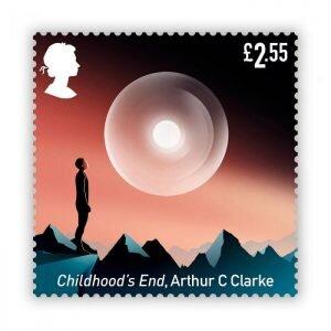 عکس | تمبرهای علمی تخیلی در پست انگلیس