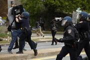 ببینید | درگیری معترضان و پلیس در واشنگتن