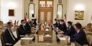 وزير خارجية صريبا يلتقي نظيره الايراني في طهران