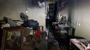 ببینید | جزئیات جدید آتشسوزی در پاساژ مهستان تهران