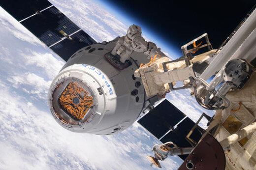 ببینید | بازگشت 3 فضانورد از ایستگاه بینالمللی فضایی به زمین