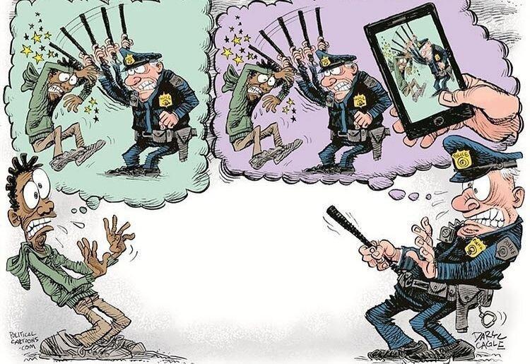 ببینید پلیس آمریکا از این وسیله میترسد!