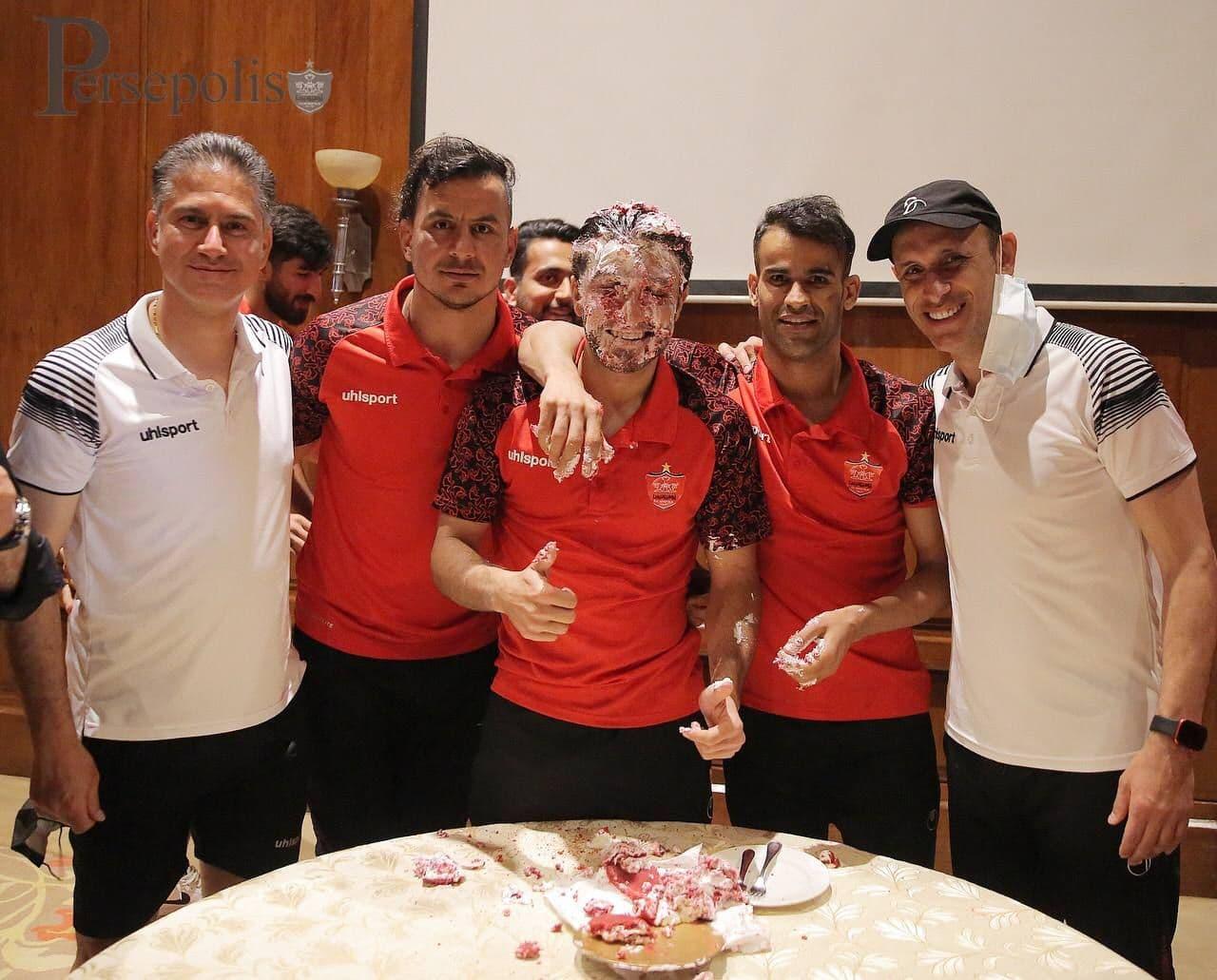 تولد بازی پرسپولیسیها در گوا/عکس