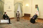 روحاني يؤكد ضرورة تعزيز التعاون الدولي بين طهران وبلغراد