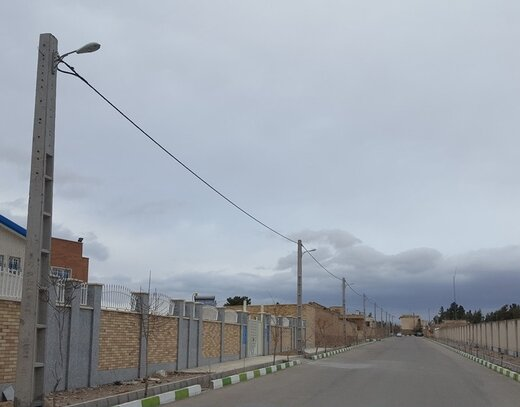 طرح احداث هشت هزار متر کابل خودنگهدار در شهرستان میامی