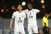 پنجه آبی روی صورت فوتبال آسیا