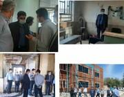 بازدید مدیرکل نوسازی مدارس از پروژه های در دست اجرای شهرستان سلسله