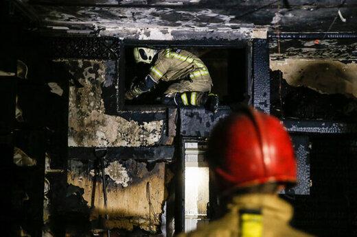 ببینید | آتش سوزی در پردیس جان ۶ نفر را گرفت