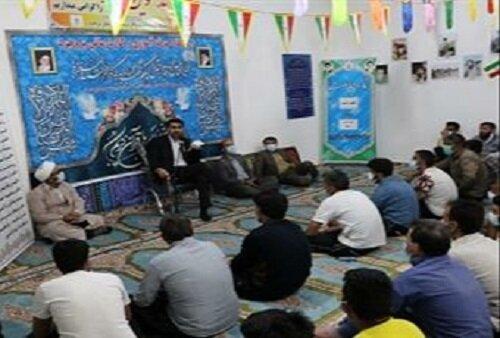 برگزاری افطارالمؤمنین مددجویان زندانیان  بروجرد