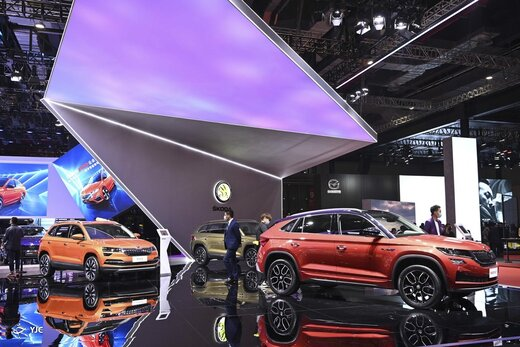 نمایشگاه خودروی شانگهای چین