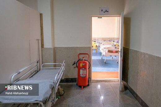 برپایی بیمارستان صحرایی و نقاهتگاه موقت در فردیس استان البرز