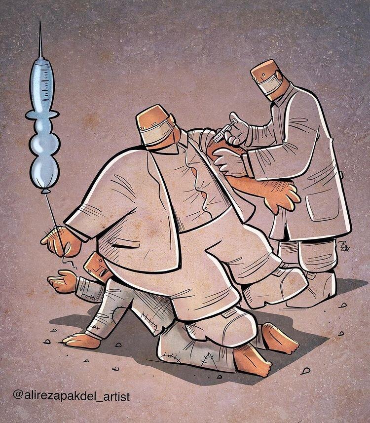 ببینید واکسن ضد کرونا برای همه هست!