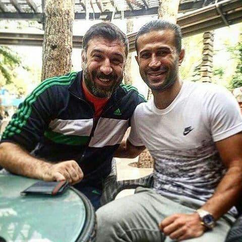 علی انصاریان و مهرداد اولادی در یک قاب/عکس