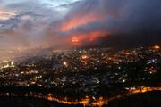 آتشسوزی در ارتفاعات استان فارس مهار نشد