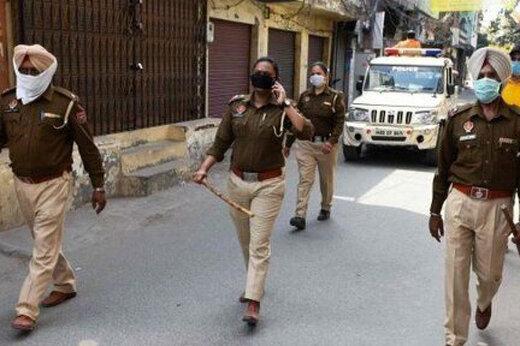 ببینید | نحوه اجرای سفت و سخت «لاکداون» در پایتخت هند
