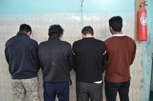   دستگیری ۴ سارق تجهیزات مخابراتی در خرم آباد