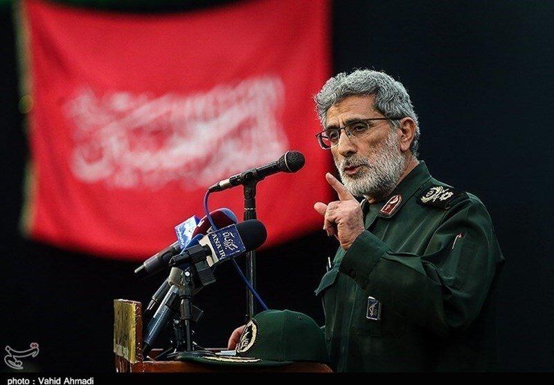 پیام جدید سردار قاآنی، فرمانده نیروی قدس سپاه