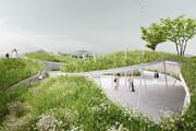 ببینید | فضای سبز یک میدان در چین