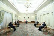 الرئيس روحاني: الأمن هو الهاجس المشترك لإيران وباكستان