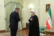 تصاویر | دیدار وزیر خارجه پاکستان با دکتر روحانی