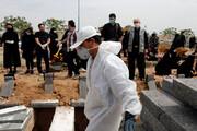 ببینید | رکورد خاکسپاری در بهشت زهرای تهران شکسته شد