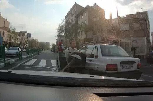 ببینید | تعقیب و گریز هالیوودی تبهکاران توسط پلیس تهران