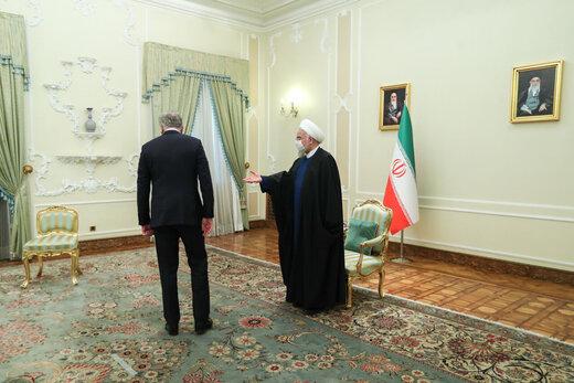دیدار وزیر خارجه پاکستان با دکتر روحانی