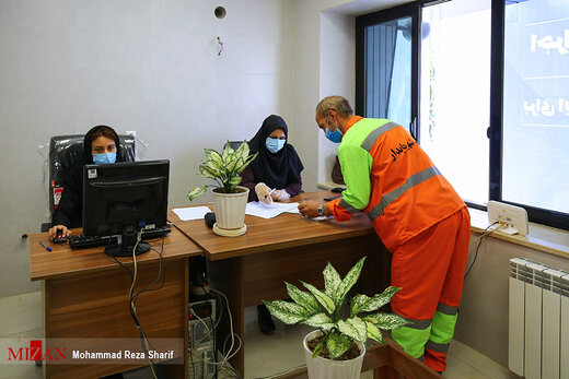 واکسیناسیون پاکبانان شهر اصفهان