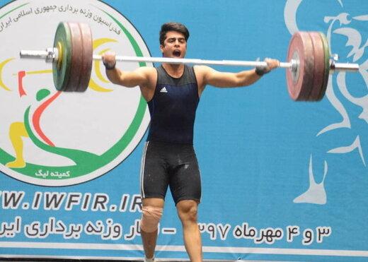 دست وزنهبردار ایران به مدال نرسید