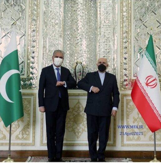 وزیران خارجه ایران و پاکستان دیدار کردند