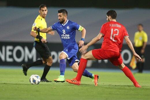 گزارش سایت AFC از دیدار استقلال و الدحیل