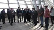 بازدید مشاور رییس جمهور از روند ساخت پایانه مسافری فرودگاه بین المللی کیش
