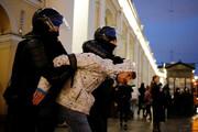 تصاویر | تظاهرات و بازداشت حامیان ناوالنی در روسیه