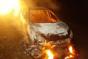 ببینید | انفجار خودروی ۲۰۷ در تونل آزادراه تهران - پردیس