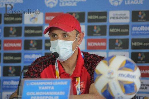 گلمحمدی: میخواهیم به فینال برویم و قرعه مهم نیست