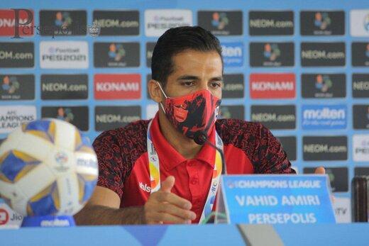 امیری: هنوز هیچ اتفاقی نیفتاده و صعودمان قطعی نشده است
