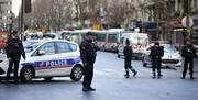 حمله با چاقو به پلیس فرانسوی