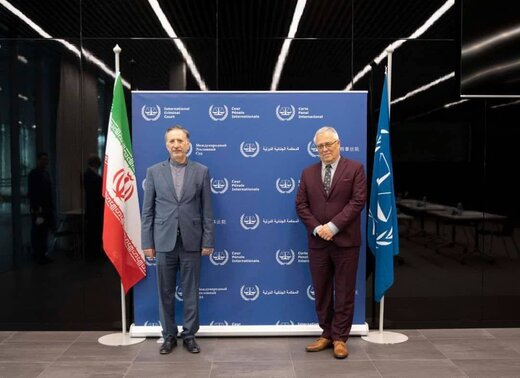 بهاروند با رئیس دیوان بینالمللی کیفری در لاهه دیدار کرد
