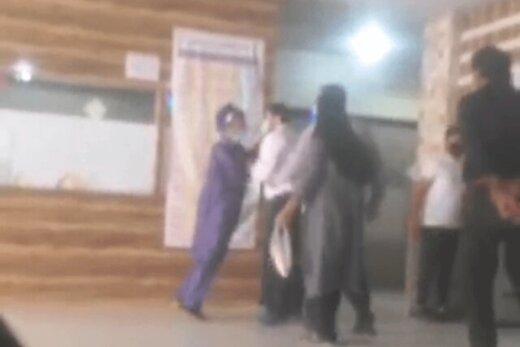 ببینید | ماجرای درگیری در بیمارستان دزفول و برخورد فیزیکی حراست