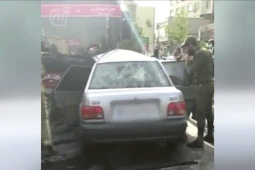 ببینید | تصادف سنگین یک خودرو پراید با اتوبوس شرکت واحد