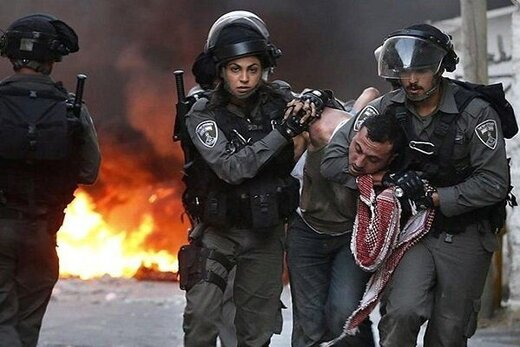 حمله صهیونیستها به جوانان فلسطینی/ دهها تن زخمی شدند