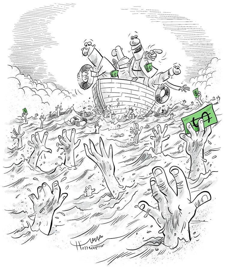 ببینید چه کسانی از سیل کرونا نجات پیدا میکنند!