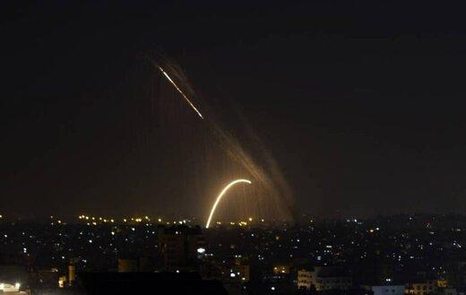 تداوم آژیر خطر در اسرائیل/ راکت ها به 10 فروند رسید