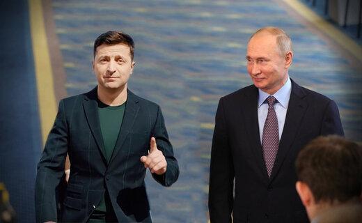 رئیس جمهور اوکراین نمیتواند پیشنهاد عجیب پوتین را بپذیرد!