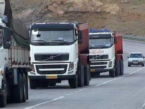 افزایش۵۶درصدی حمل کالا با ناوگان حملونقل جادهای قزوین